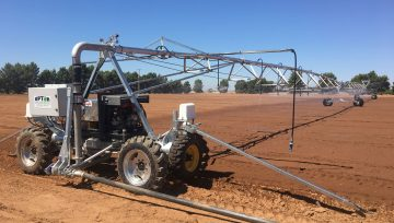 Upton introduces new Australian designed and manufactured Linear Move Irrigators